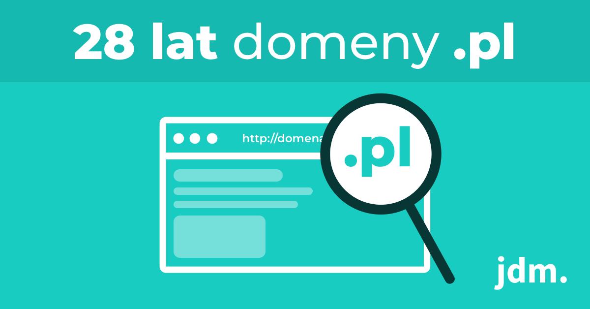 28 lat domeny .pl