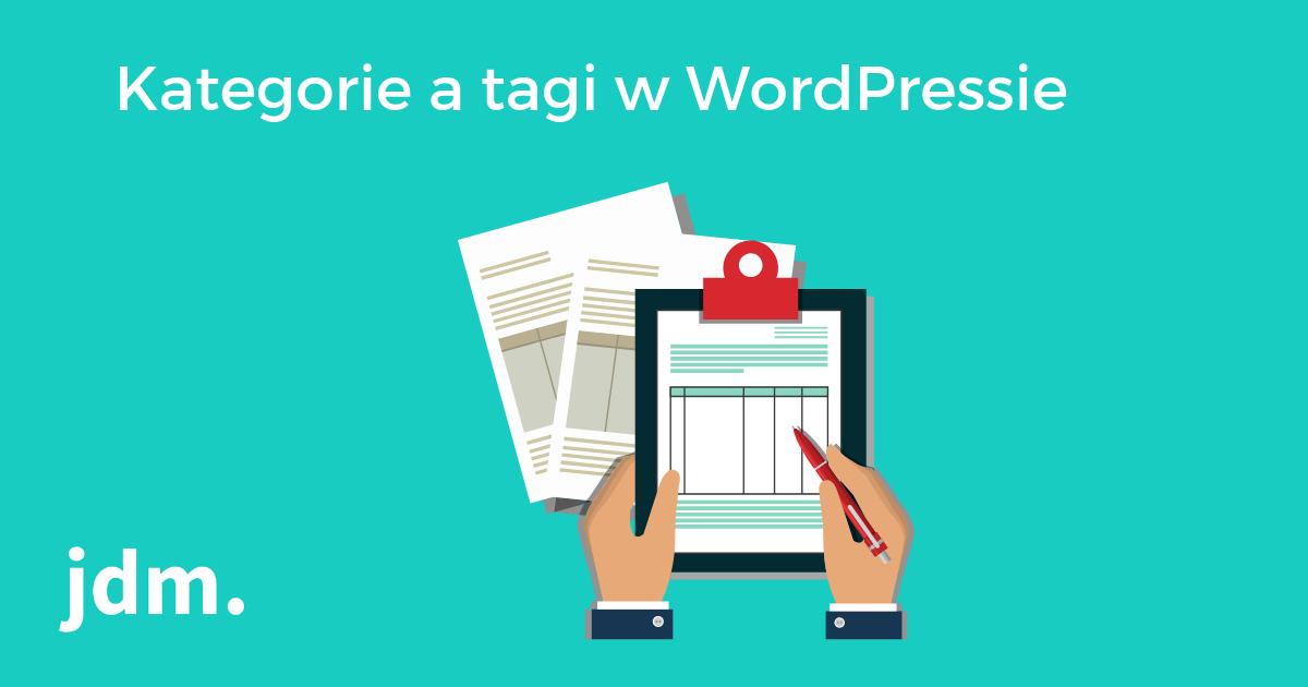 Kategorie a tagi w WordPressie