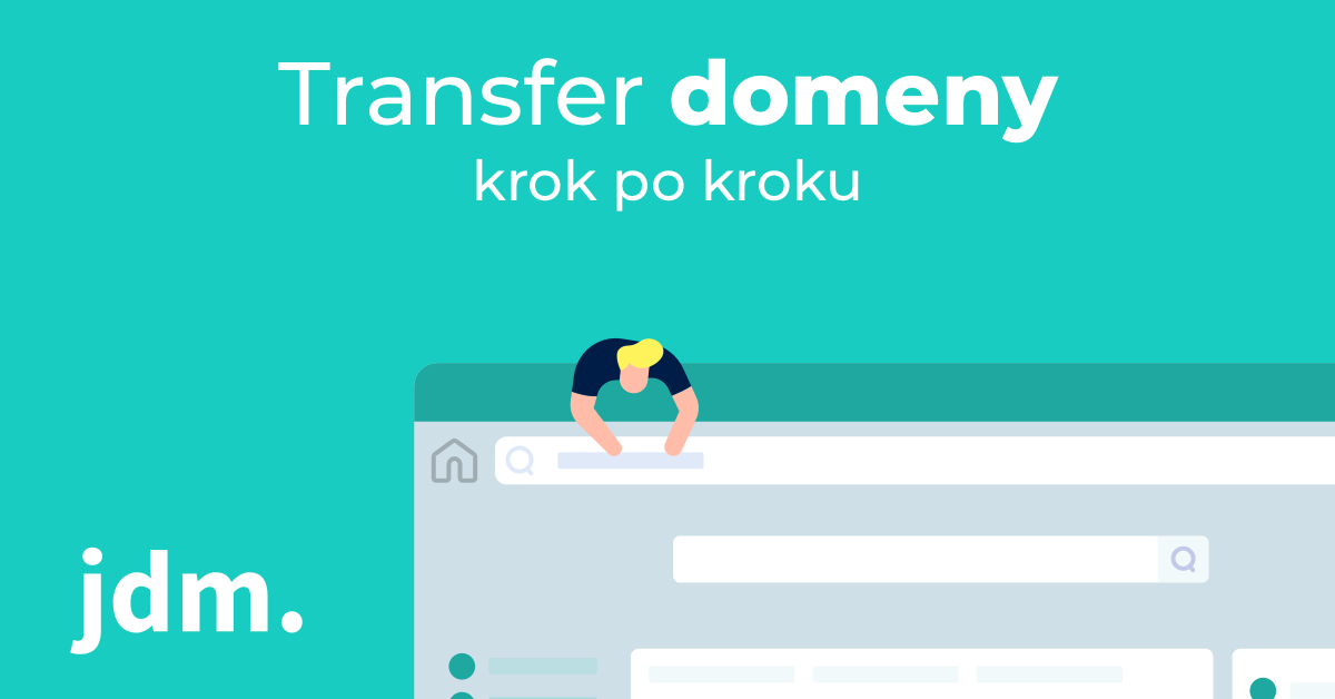 Transfer domeny – krok po kroku