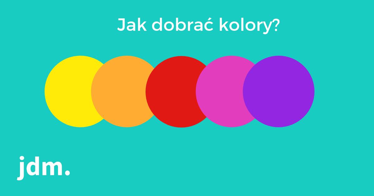 Jak dobrać kolory dla swojej strony WWW?