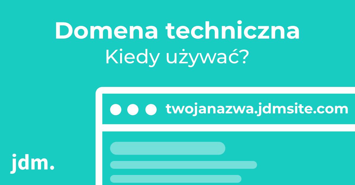 Zastosowanie domeny technicznej