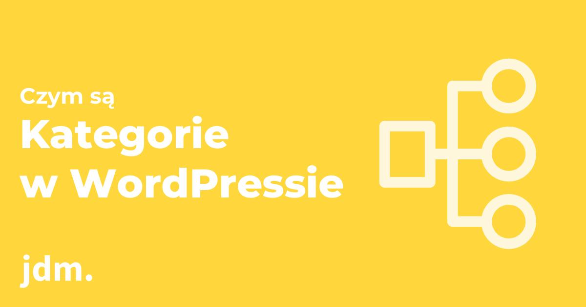 Kategorie w WordPressie